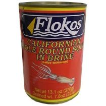 Flokos Squid in Brine 13.1 oz
