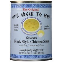 It's Greek To Me! Greek Style Chicken Soup