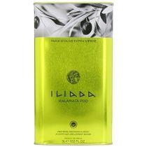 Iliada Extra Virgin Olive Oil Tin, 3 Liters