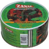 Zanae Mixed Macedonian Vegetables 280g