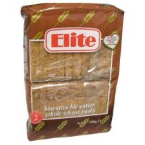 Elite Toast Rusks Whole Wheat 180g