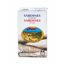 Fantis Sardines in Oil 125g