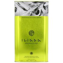 Iliada Extra Virgin Olive Oil Tin, 3 Liters