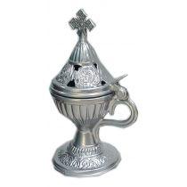 Livanistiri Incense Holder-Silver