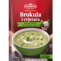 Podravka Cream of Broccoli and Cauliflower Soup