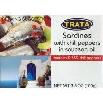 Trata Sardines in Soybean Oil 100g