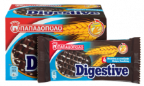 Papadopoulou Digestive Dark Chocolate 250g