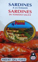 Fantis Sardines in Tomato Sauce 124g
