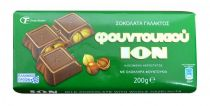 ION Milk Chocolate with Hazelnuts 200g