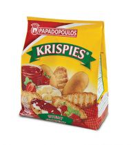 Papadopoulos Krispies Wheat Toasted Rusks 200g