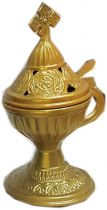 Livanistiri Incense Holder-Gold