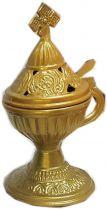 Livanistiri Incense Holder-Gold