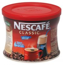 Nescafe Frappe Classic Decaf 100g