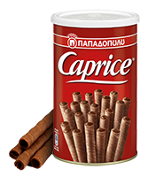Papadopoulos Greek Caprice Wafers with Hazelnuts (Praline) Cocoa