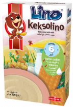Podravka Lino Keksolino Cookies and Milk Instant Cereal Flakes